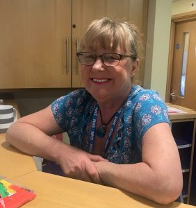 Jo Deniss, A&E administrator at Basildon's Wellbeing Hub