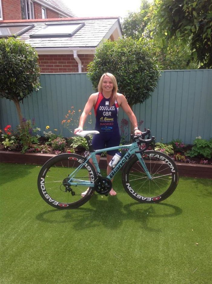 Louise's virtual cycle challenge across the UK to raise money for PPE at Basildon Hospital