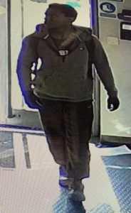 Police are seeking information regarding the identity of this man