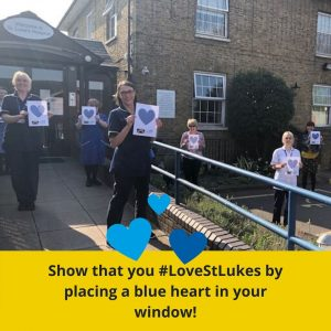 Above image is from St. Luke's Hospice, Basildon Facebook page.