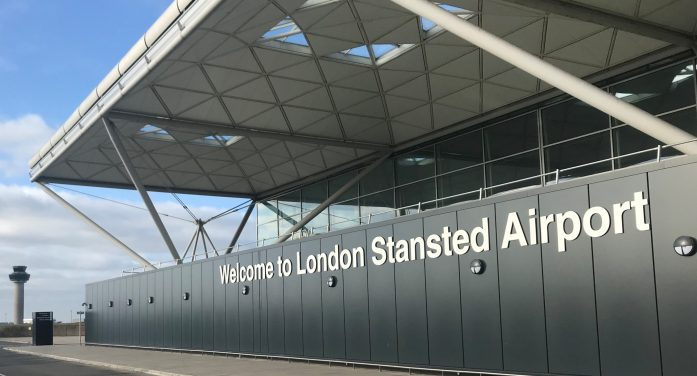 Two arrested after flight diverted to Stansted Airport