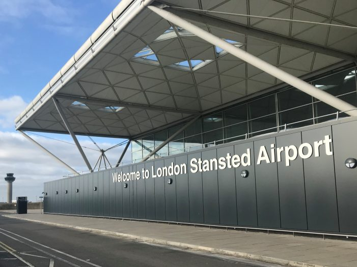 Stansted Airport passenger numbers fall by 99.4 per cent