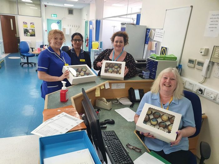 Amazon wishlist set up for donations to hospitals and care homes in Thurrock and surrounding areas