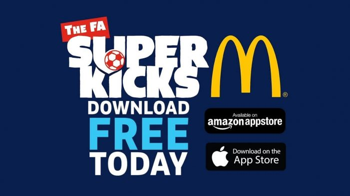 Daily 'SuperKicks' football challenges for young children