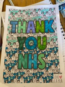 Nhs tribute by Claire Walters