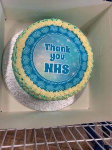 thank you nhs cake